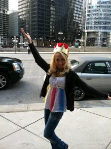 Laura Petrolino stole my crown!