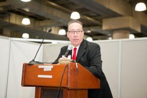 Joel Libava speaking in New York City