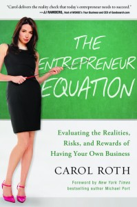 the entrepreneur equation book carol roth