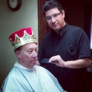 A little trim around the franchise king's crown
